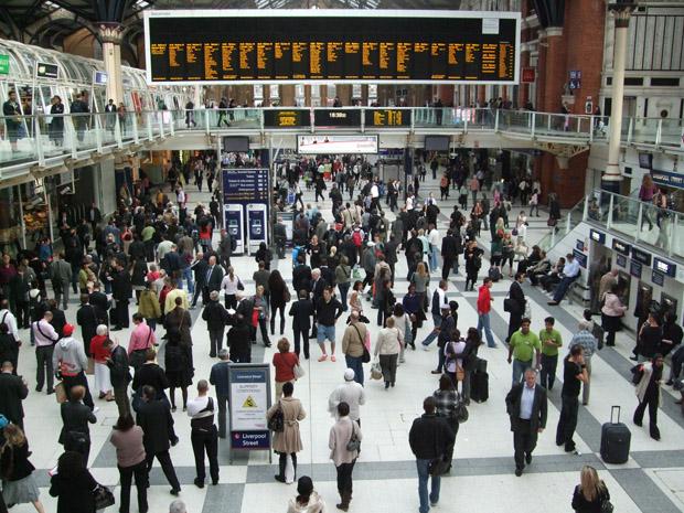 London Liverpool Street ist der ideale Ausgangspunkt um die Stadt zu erkunden.
