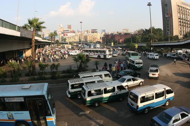Verkehrschaos überall