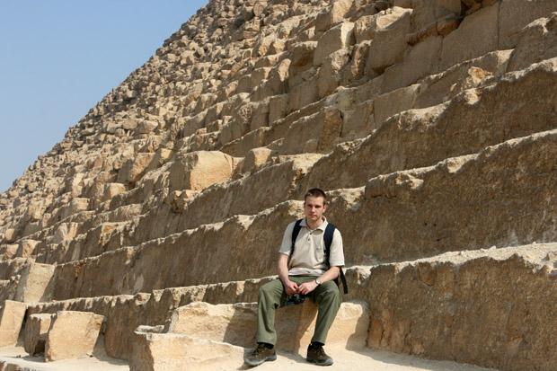 Eine kleine Ruhepause auf 5000 Jahren Geschichte.