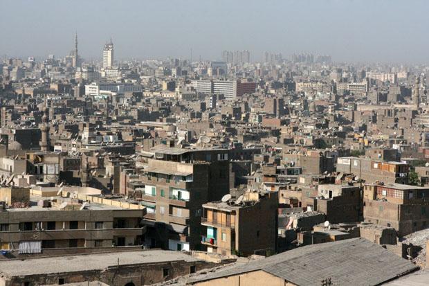 Häuser soweit das Auge reicht - Kairo von oben