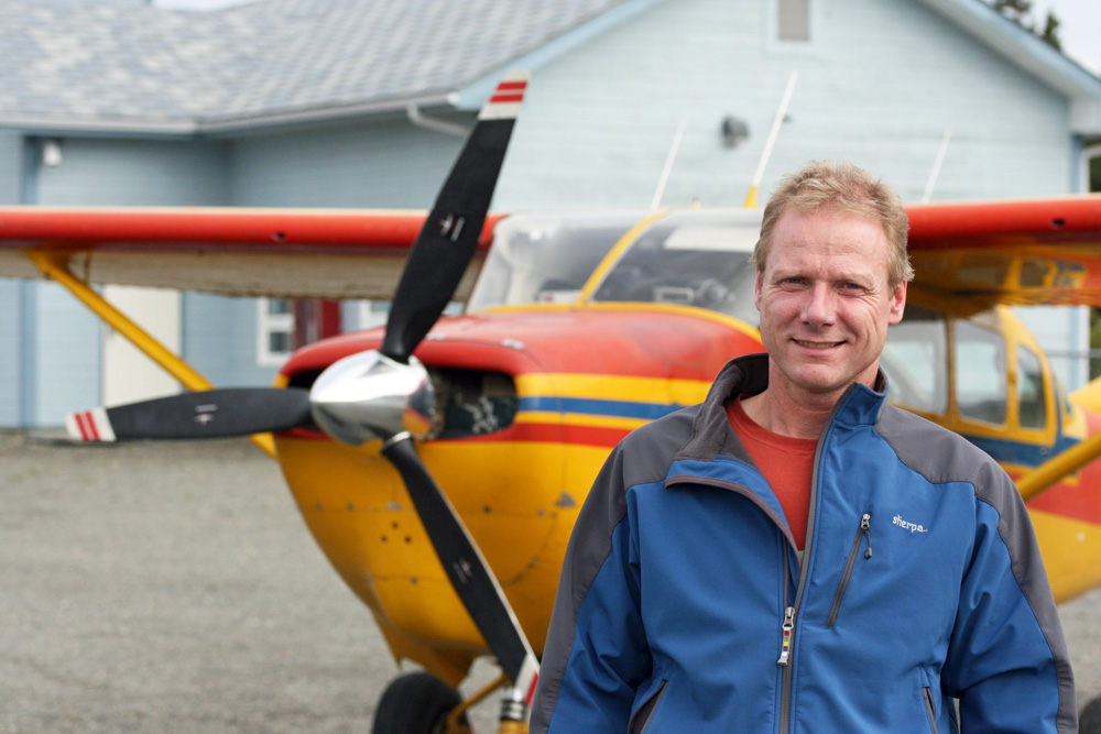 Buschflieger Thor Flender ist Pilot in Haines Junction im Yukon in Kanada