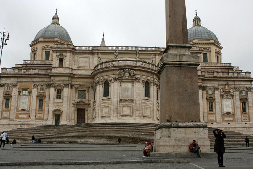 Pilgerkirchen in Rom Santa Maria Maggiore