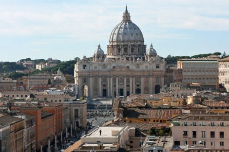 Pilkerkirschen in Rom der Petersdom