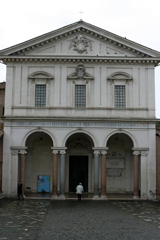 Pilgerkirchen in Rom Basilika San Sebastiano alle Catacombe