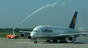 Mit dem A380 über Sylt