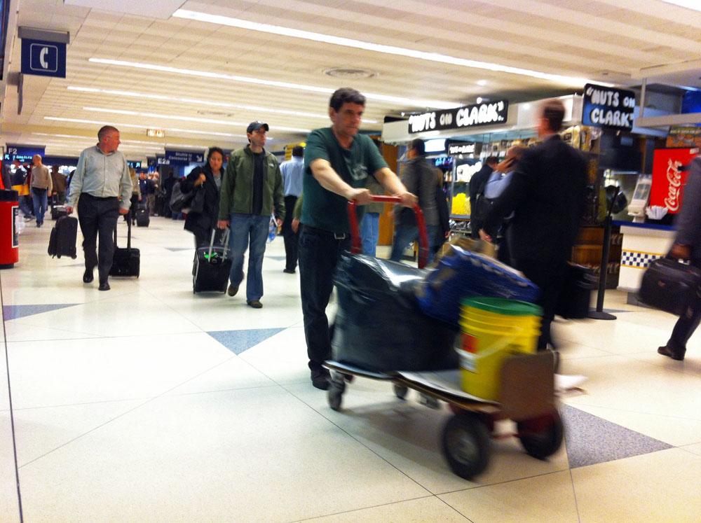 Terminal des Chicago O'Hare Airport