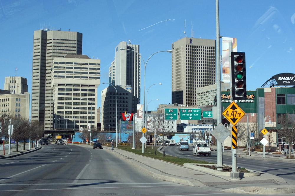 Eine andere Ansicht der Innenstadt