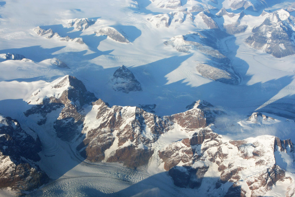 Berge auf Grönland