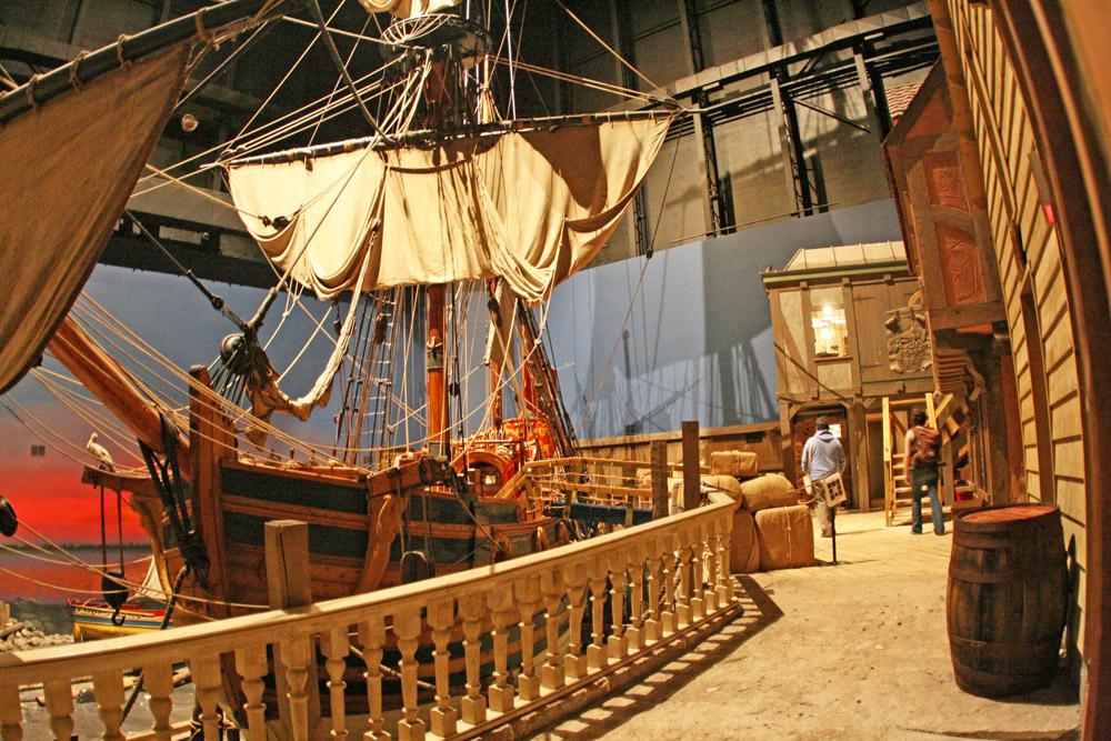 Altes Segelschiff im Manitoba Museum Winnipeg
