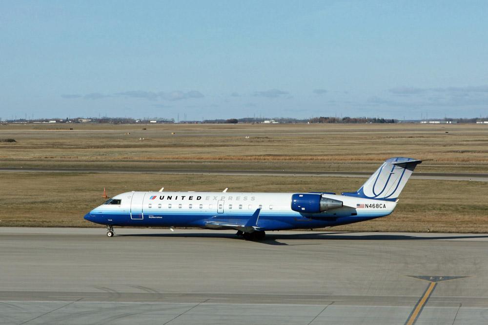 Flugzeug United Express