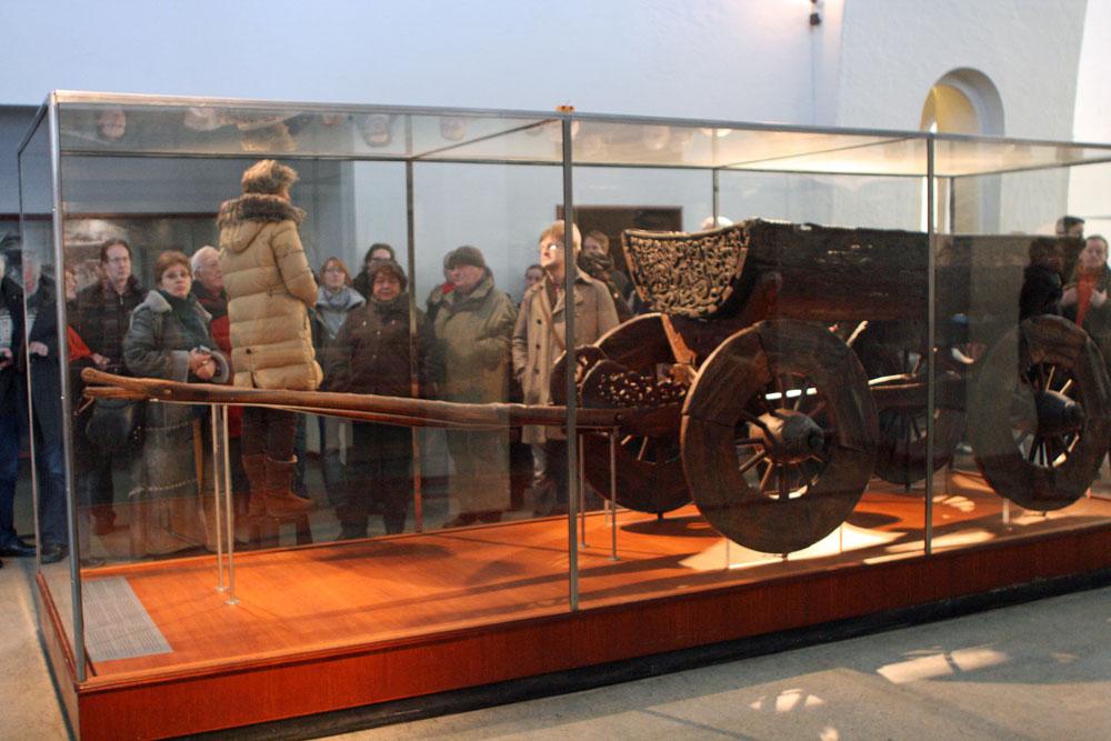 Meine Reisegruppe im Museum