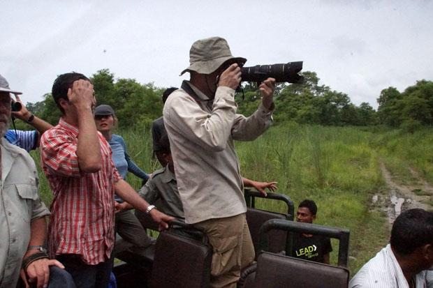 Auf Safari im Chitwan Nationalpark. Foto: Madlen Vorwerk