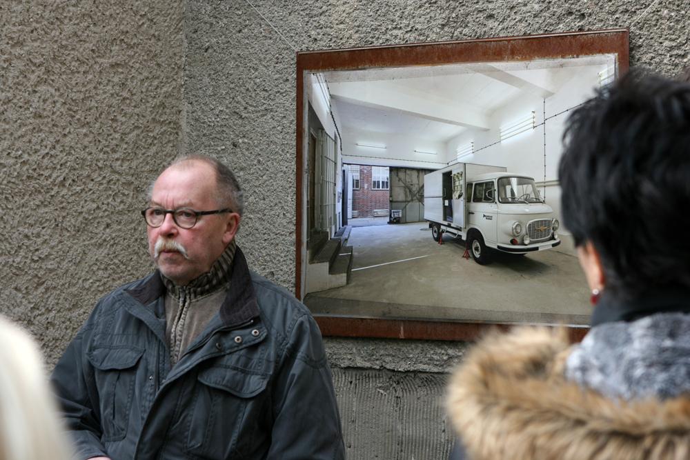 Zeitzeuge Karl-Heinz Richter und das ehemalige Stasi Gefängnis und die heutige Gedenkstätte Berlin Hohenschönhausen