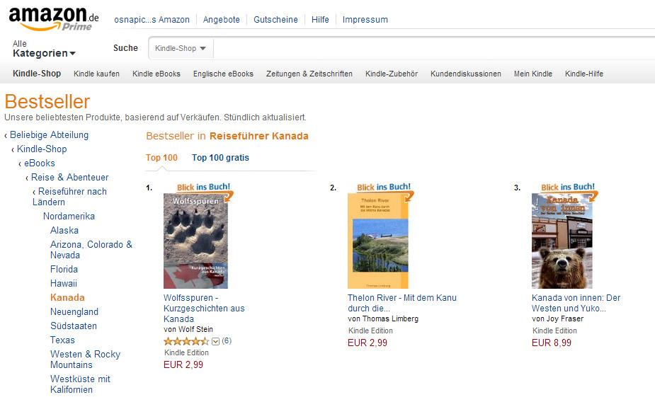 Platz 2 in der entsprechenden Bestsellerliste