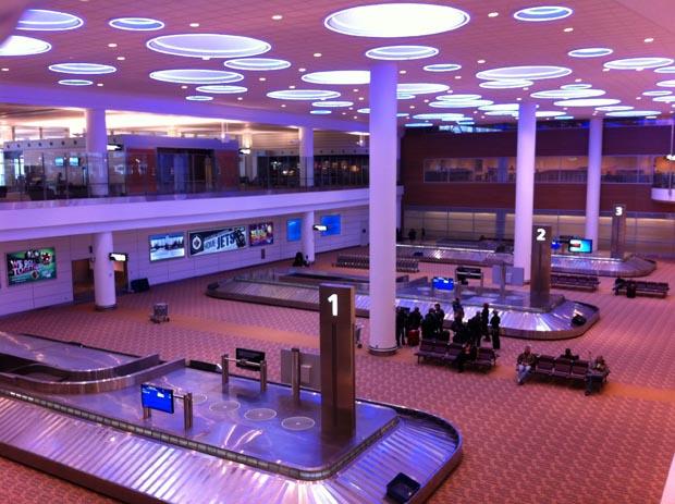 Sehr modern zeigt sich der Flughafen Winnipeg.