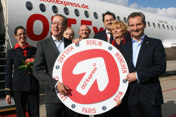 Mit der OLT unternahm ich einen Rundflug am Flughafen Münster/Osnabrück.