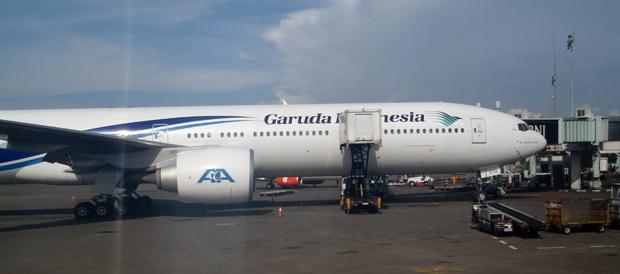 Das Fliegen mit Garuda Indonesia hat mir sehr gut gefallen.