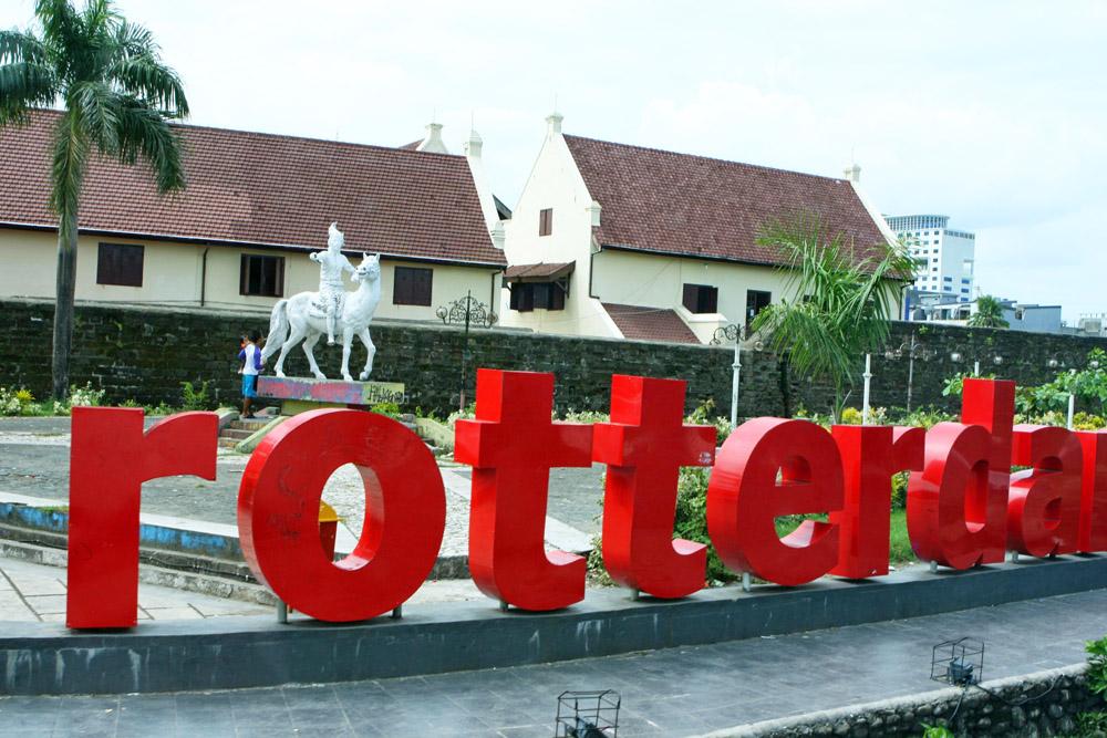 Kann man sich anschauen, muss man aber nicht - Fort Rotterdam in Makassar auf Sulawesi in Indonesien