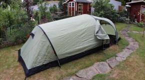 Ein neues Zelt