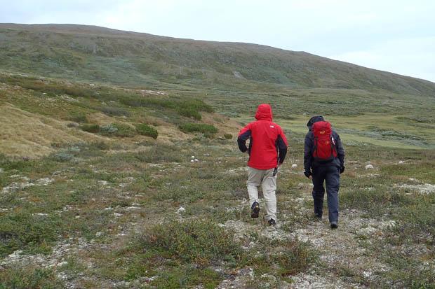 Ohne unsere schweren Rucksäcke erkundeten wir die Gegend.