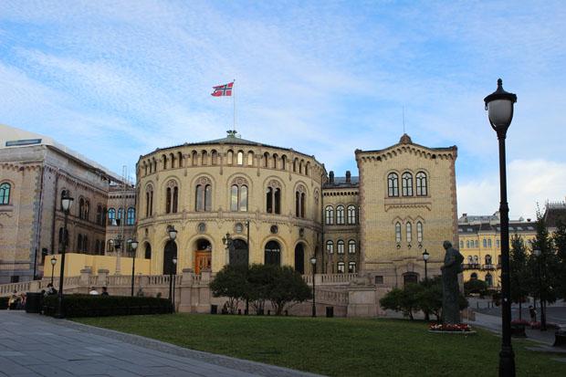 Das Wetter in Oslo war perfekt.