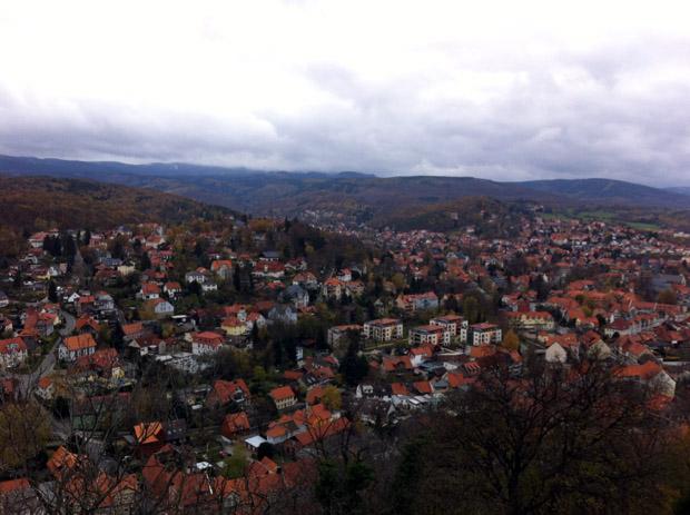 Blick über Wernigerode.