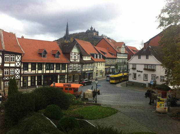 Über Wernigerode thront das Schloss.