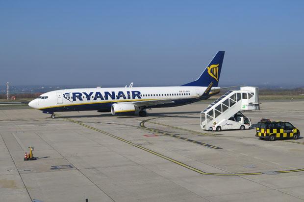 Immer wieder ein Erlebnis - Flüge mit Ryanair