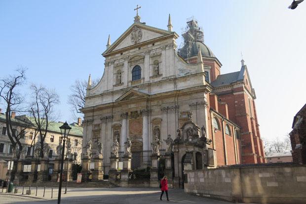 Wer sich für Kirchen interessiert, dürfte an Krakau seine Freude haben