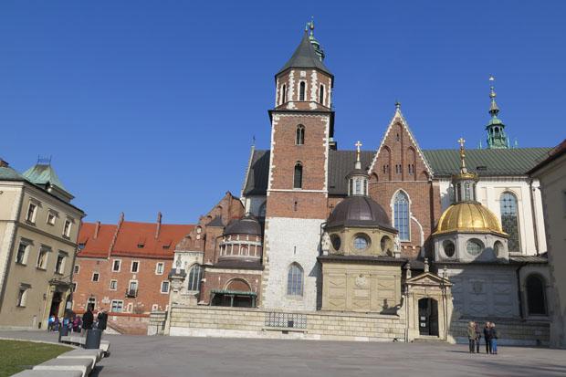 Im Zentrum des Wawels