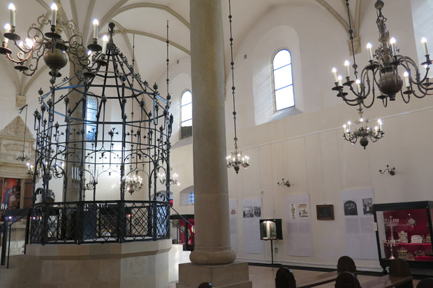 Die Synagoge von innen
