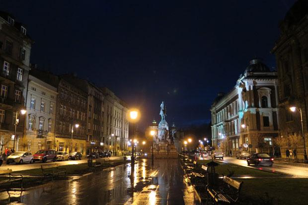 Selbst bei Regen ist die Stadt einen Besuch wert