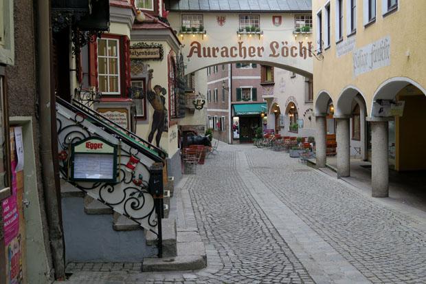 Auch bei einem kurzen Abstecher nach Kufstein blieb das Wetter schlecht