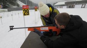 Wie man Biathlon selbst ausprobiert