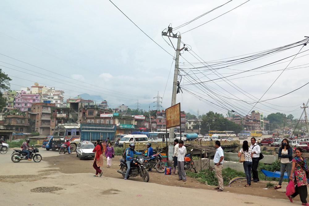Vieles wirkte in Nepals Hauptstadt Kathmandu chaotisch, vieles aber auch vertraut
