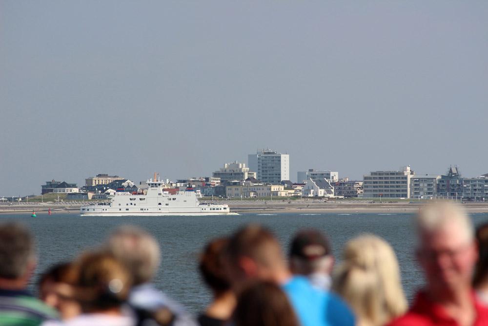 Skyline von Norderney. Der ostfriesischen Insel in der Nordsee