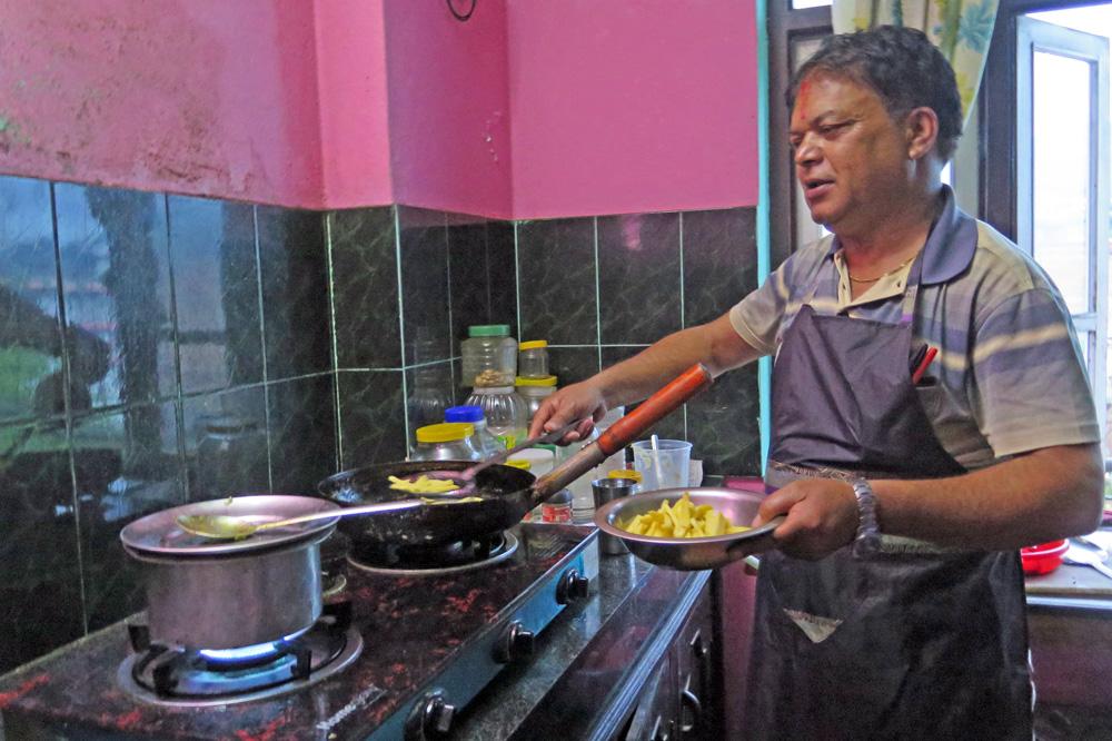 In Nepal wird gerne frisch gekocht