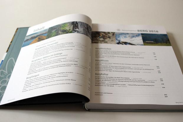 Ein prall gefülltes Inhaltsverzeichnis mit spannenden Themen