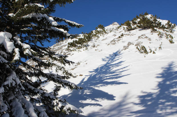 Gipfelbereich der Naunspitze
