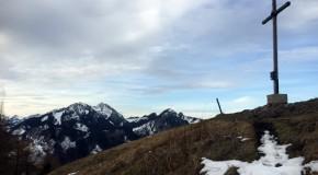 Auf den Gipfel des Großen Riesenkopfs