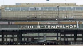 Spaziergang über den Flughafen Tempelhof