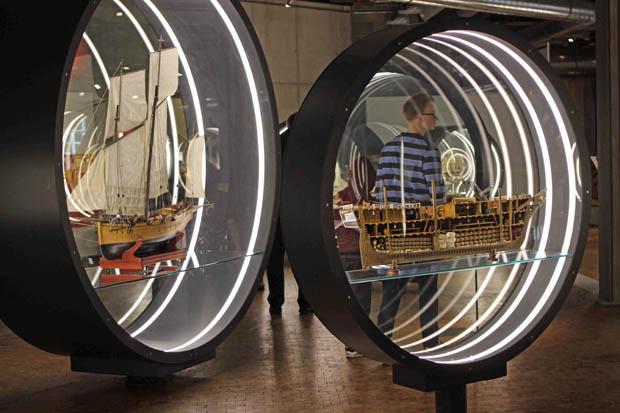 Vor allem viele Schiffsmodelle sind zu sehen