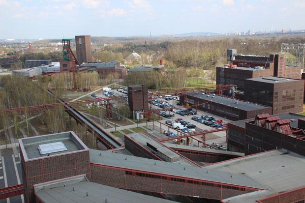 Blick vom Dach der Kohlenwäsche