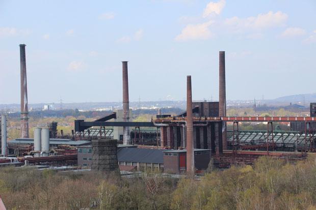 Nebenan liegt die Kokerei Zollverein