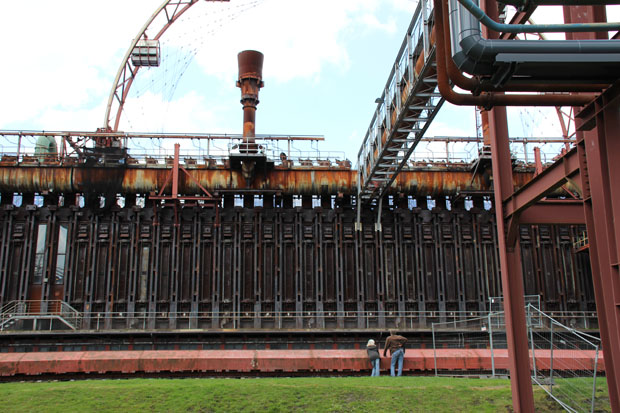 Die ehemalige Kokerei Zollverein