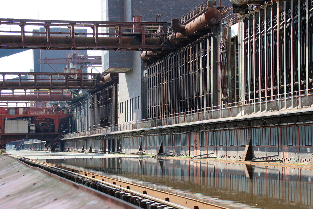 Die Einblicke in die Kokerei Zollverein sind faszinierend
