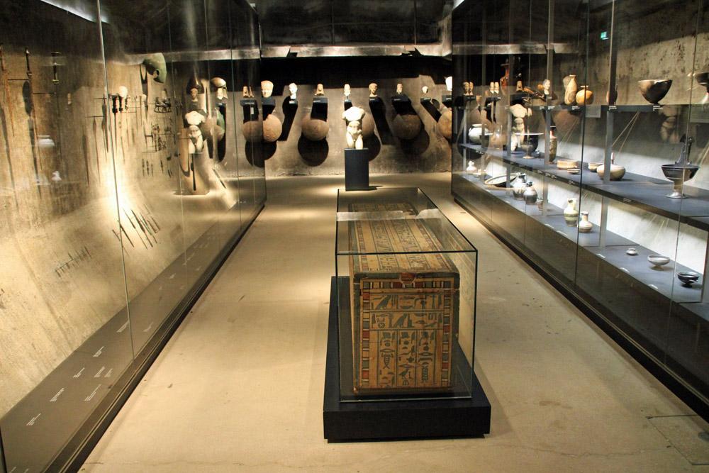 Ägyptische Sammlung im Ruhr Museum Essen auf der Zeche Zollverein
