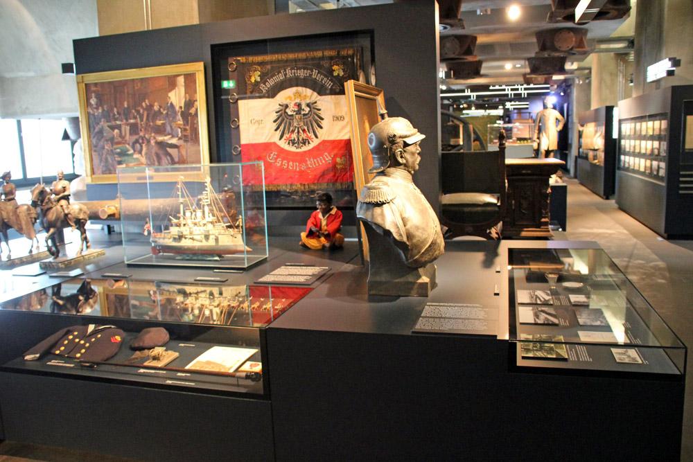 Einige interessante Exponate sind im Ruhr Museum auf der Zeche Zollverein zu finden