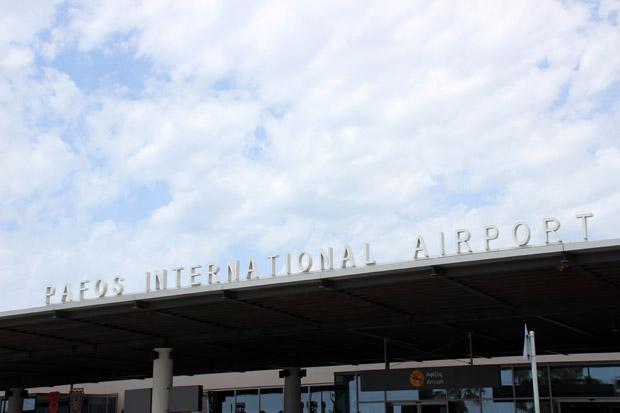 Klein und übersichtlich ist der sympathische Flughafen von Paphos