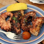 Gegrillter Tintenfisch schmeckt einfach nur phänomenal gut